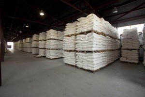 Pallets of Bulk Rock Salt / Bulk De-Icing Salt