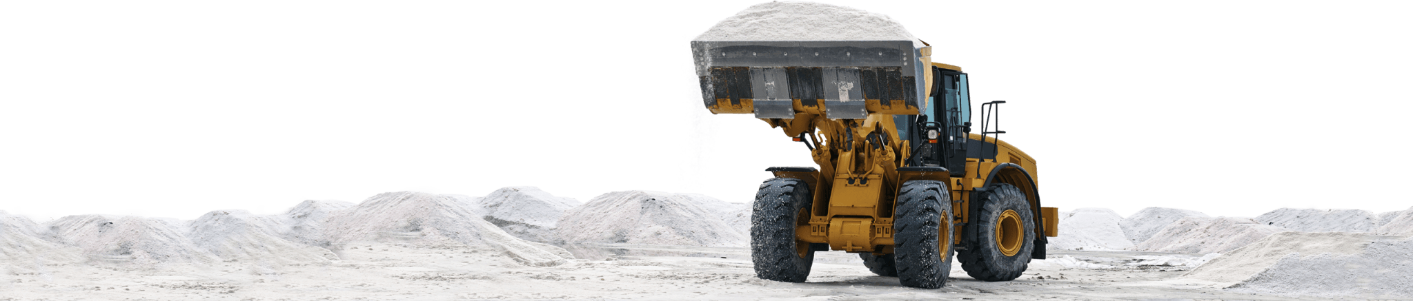 bulk Road Salt Tractor