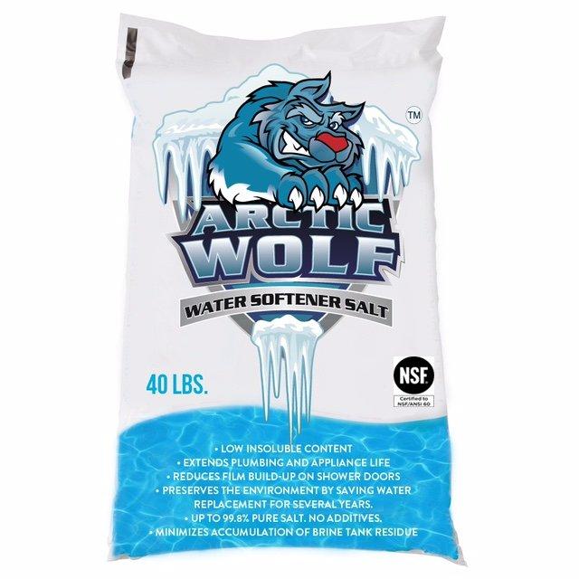 bagged water salt