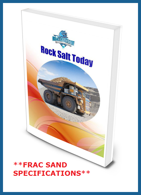 frac sand specifications